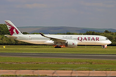 A7-ALK Airbus A350-941 Qatar Airways MAN 23MAY19 (Ken Fielding) Tags: a7alk airbus a350941 qatarairways aircraft airplane airliner jet jetliner widebody