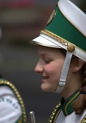 Parade (Scott 97006) Tags: woman female lady uniform flute hat march