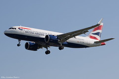 G-TTNI (Baz Aviation Photo's) Tags: gttni airbus a320251n british airways baw ba heathrow egll lhr 27l