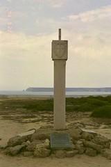Padrão Português (moacirdsp) Tags: padrão português portuguese territory marker fortaleza de sagres ponta portugal 1998  vila do bispo concelho faro distrito