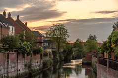 Evening by the river - Explore #180 (+Pattycake+) Tags: citywalk trees landscape buildings ©patriciawilden2019 water sundown norwich riverwensum uk evening riverside 22may19 explore180