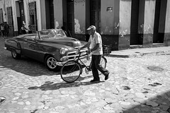 Crossing (michael.mu) Tags: 35mm cuba leica mm246 monochrom summicron car trinidad blackandwhite bw streetphotography