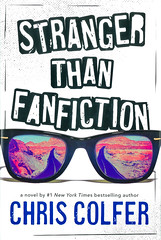 Stranger Than Fanfiction (Vernon Barford School Library) Tags: chriscolfer chris colfer realisticfiction realistic fiction celebrity celebrities fans friendship road secrets trips adventure death grief depression performingarts actors travel youngadult youngadultfiction ya yrca youngreaderschoiceawards yrcanominee yrcanominees award awards intermediate intermediatedivision 2020 9780316383448 vernon barford library libraries new recent book books read reading reads junior high middle school vernonbarford fictional novel novels hardcover hard cover hardcovers covers bookcover bookcovers