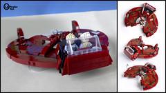 The Star Wars Prototype Landspeeder (Praiter Yed) Tags: starwars prototype landspeeder colincantwell lego wip