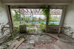 Swimming (NأT) Tags: abandoned abandon abandonné abandonnée abbandonato abbandonata ancien ancienne alone architecture piscine swimming swim nature bath pool decay decaying derelict dust decayed dusty day discover destroyed forgotten forbidden explorationurbaine exploration explore exploring empty explo explored rust rusty ruins rotten trespassing urbex urban urbain urbaine urbanexploration inside inexplore interdit old oubli sony ilce7m3 alpha7iii past photography history closed memories souvenirs lost light nobody neglected building verlassen creepy