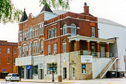 Old Commercial Buildings, Jefferson City, Missouri