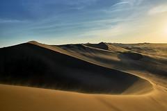 Sand Dunes from Huachachina - Peru (W_von_S) Tags: oasis oase peru huacachina sand sanddünen sanddunes wüste desert sunset sonnenuntergang landschaft landscape natur nature wvons werner sony sonyilce7rm2