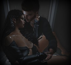 Every Time Our Eyes Meet ... (Stevie Rammidge) Tags: love stevie ivory mrmrsrammidge truelove sl secondlife passion