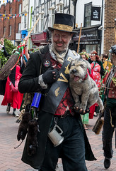 One Man and his Dog (daveseargeant) Tags: dickens character sweeps festival rochester kent medway nikon df 50mm 18g street
