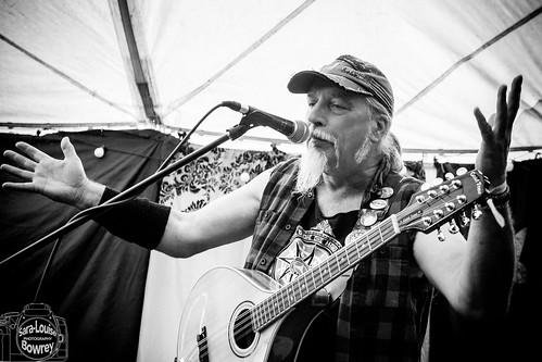 Stevie Simpson/One Man One Mandolin at Bearded Theory 19