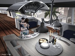 Cooking on the Yacht... (Tonny Rey) Tags: swankevent furniture clothing deco home storeevhah deboutique firelight yglt woman