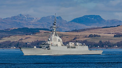 Spanish frigate Almirante Juan de Borbón F102 (Ratters1968: Thanks for the Views and Favs:)) Tags: warships ship navy war military fleet faslane greenock cloch jw jointwarrior2019 clyde riverclyde scotland sea water nato exjw19 canon7dmk2 martynwraight ratters1968 canon dslr photography digital eos spanish frigate almirantejuandeborbónf102 spain f102 spanishnavy