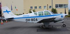 OH-BDA (Ken Meegan) Tags: ohbda beech35b33debonair cd789 finnairflyingclub weston 2452019 beech35 debonair finnair