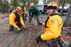 High-angle search & rescue training - May 2019 (1) (YellowstoneNPS) Tags: sar ynp yellowstone yellowstonenationalpark employees highangle searchandrescue
