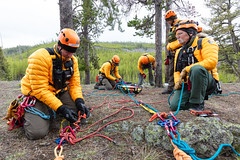High-angle search & rescue training - May 2019 (2) (YellowstoneNPS) Tags: sar ynp yellowstone yellowstonenationalpark employees highangle searchandrescue