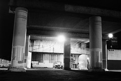 2nd street underpass (murray__) Tags: ricoh tls401 ilford delta 400 hc110 zeiss jena flektogon 2nd street berkeley underpass
