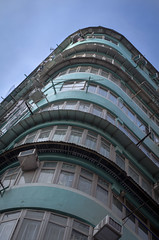Hong Kong Style - Tenement House (Theandypang) Tags: hongkong hk city innercity building 香港 香港文化 香港人 architecture old traditional district foreign asia collective d5100 50mm nikon dslr