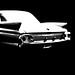 1961 Cadillac Toy Model 1 - Conte Crayon