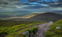 Clachnaben - Rolling Hills (Benjamin RP) Tags: clachnaben scotland aberdeenshire mountain mountains rocks summit sky hiking rolling hills dramatic trail walking adventure