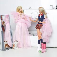 Barbara Bianca e Raphaelle Paris (halscary) Tags: barbie poppy parker integrity toys color infusion doll style ken collector silkstone boneca fair dress pink blonde cute kawaii