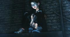 Talk (BiancaPetrov) Tags: avatar blueberry chrismorriseycm fdsummershirt girl genushead skinnery lamb tomboi roc swallow kunst kibitz ellesurfacetattoo teascup