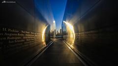 Empty Sky (Matt Straite Photography) Tags: new york newyork nyc twin towers memorial color sky landscape