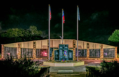 Memorial Day 2019 (Jims_photos) Tags: sanmarcostexas sanmarcos veteransmemorial texas trees unitedstates outdoor outside oldmemories adobelightroom adobephotoshop shadows jimallen jimsphotos jimsphotoswimberleytexas lightroom cloudy clouds nopeople nightphotos nightshot memories
