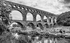 Pont-du-Gard near Avignon France (dwetherley) Tags: pontdugard uzes