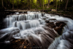 Clark Creek Cascades No 3 (Simmie | Reagor - Simmulated.com) Tags: haddam connecticut unitedstatesofamerica greatphotographers waterfalls cascades spring creek