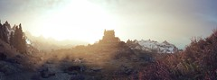 Dawn (akane_nyoko) Tags: skyrim landscape whiterun the elder scrolls v
