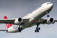 TC-LNF Turkish Airlines Airbus A330-303 (buchroeder.paul) Tags: eddl dus dusseldorf international airport germany europe final tclnf turkish airlines airbus a330303