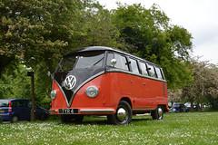 1957 Volkswagen Type 2 (Si 558) Tags: vw volkswagen beetle camper avoncroft museum avoncroftmuseum 2019 vwbeetle