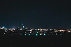 _MG_6395 (waychen_c) Tags: taiwan tw taipei taipeicity zhongshandistrict songshan songshanairport tsa rcss boeing 737 737800 xiamenair b5603 mf884 aircraft airplane aviation airport runway light night nightscape cityscape urban skyline 台灣 台北 台北市 中山區 松山 松山機場 波音 廈門航空 廈航