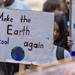 Students and young people call on politicians to act and take care of climate protection to