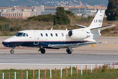 Luxaviation Cessna 560XL Citation XLS LX-DEA (José M. Deza) Tags: 20190522 560xlcitationxls bcn cessna elprat lebl lxdea luxaviation planespotting spotter aircraft