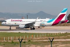 "Eurowings A320-214 D-AEWK ""Kvarner"" (José M. Deza) Tags: 20190522 a320214 airbus bcn daewk elprat eurowings lebl planespotting spotter aircraft sticker"