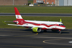 YL-CSL Airbus A220-300 EBBR 13-05-19 (MarkP51) Tags: ylcsl airbus a220300 a220 airbaltic bt bti latvia100 specialcolours brussels zaventem airport bru ebbr belgium airliner aircraft airplane planr image markp51 nikon d500 plane nikon200500f56vr nikond500