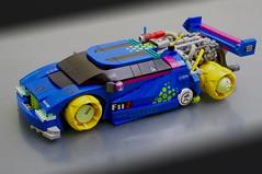 Renault Diaoul (01) (F@bz) Tags: lego moc car cyberpunk conceptcar fbz renault