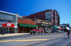 15 Overland Rye Cures The Blues Sign Butte Montana (Lather and Froth) Tags: butte montana overlandrye