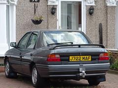 1992 Ford Orion 1.8 Si Ghia 16v (Neil's classics) Tags: vehicle 1992 ford orion 18si 16v ghia car