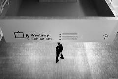 In museum - Katowice 2019 (Tu i tam fotografia) Tags: blackandwhite noiretblanc enblancoynegro inbiancoenero bw monochrome czerń biel czerńibiel noir czarnobiałe blancoynegro biancoenero streetphoto indoor człowiek man people ludzie nogi legs fotografiauliczna streetphotography candid polska poland podłoga floor muzeum museum