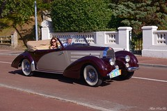 1939 Bugatti type 57C cabriolet Letourneur & Marchand 57841 (pontfire) Tags: 1939 bugatti type 57c cabriolet letourneur marchand 57841 39 t57 t 57 フランス車 française french französisches francés francese oldtimer bil αυτοκίνητο 車 автомобиль automotive 自動車 سيارة מכונית rallye automobile enghienlesbains le touquet parisplage 1er enghien les bains paris plage cars voiture old antique classic vieille ancienne collection car autos automobili automobiles voitures coche coches wagen pontfire vintage classique veteran tacots drophead coupe décapotable convertible avant guerre pre war luxe luxury luxueuse prestige dexception