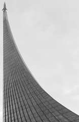 To The Stars (LeeDylanLeeDyl) Tags: moscow russia russian space travel statue sculpture monument galaxy universe yuri gagarin black white bw bnw d3300 35mm 18 nikon nikkor