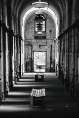 Eastern State Penitentiary (Thomas Hawk) Tags: america easternstatepenitentiary pennsylvania philadelphia philly usa unitedstates unitedstatesofamerica abandoned architecture bw jail penitentiary prison fav10 fav25