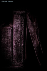 Old books (Neil Adams Photography (Wirral)) Tags: books old colourtoning