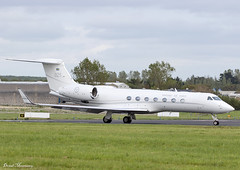 Swedish Air Force G550 102005 (birrlad) Tags: shannon snn international airport ireland aircraft aviation airplane airplanes bizjet private passenger jet government state vip airforce military swedish air force g550 102005 gulfstream 025 king queen sweden royal visit