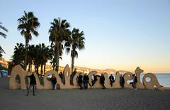 Group Selfie, Málaga, Spain (Jonathan Makin) Tags: malaga spain city urban port sunset selfie group beach sea fun travel