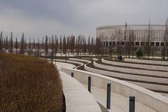 FC Krasnodar Stadium (atsubor) Tags: krasnodar russia краснодар россия park modernarchitecture stadium trees