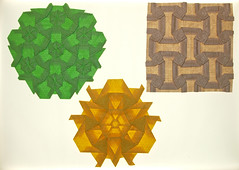 MOUNTAIN TESS SERIES (mganans) Tags: origami tessellation