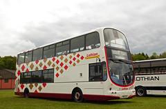 Harlequin 701 (SRB Photography Edinburgh) Tags: lothian buses bus harlequin ukbus volvo b7